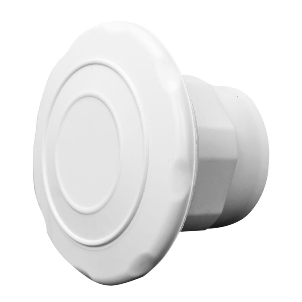 Dispositivo De Aspiração Em Abs Branco Para Piscinas De Alvenaria e Fibra