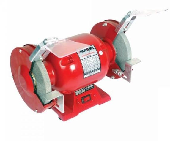 Moto Esmeril Motomil 360 Watts Com Proteção MMI-50 127v