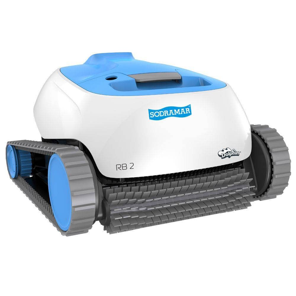 Robô Aspirador Rb2 Automático Para Limpeza Piscinas Sodramar