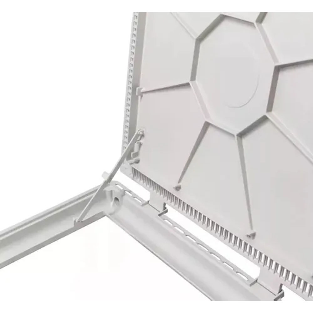 Tampa Para Casa De Maquinas Articulada Alumínio 1,10 X 1,10 M. Piscinas Gda