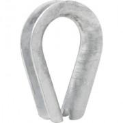 Anilha/sapatilho para cabo de aço 7,94 mm 5/16
