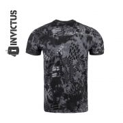 Camiseta Tática Militar T Shirt Tech Invictus