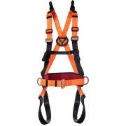 Cinturão paraquedista /abdominal c/ reg. total e porta ferramentas Mult 2010A Mg Cinto