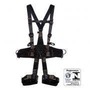 Cinturão paraquedista abdominal eletricista engate rápido retardante à chama 1891C Mg Cinto