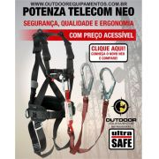 Cinturão Paraquedista Potenza Telecom Neo e Talabarte sde YUltra Safe