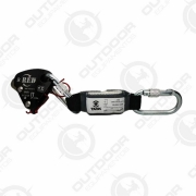 Trava Quedas Red para Cordas 11mm a 12mm Resgate 240kg CE EN ISC Task