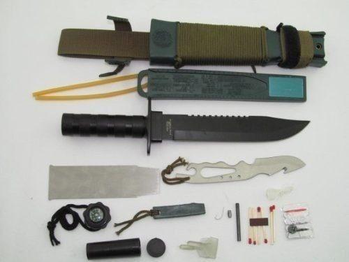 Faca Tática Completa sobrevivência Platoon Nautika