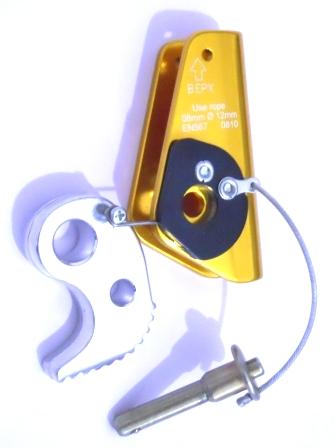 Bloqueador para corda de 9mm a 12mm pino removível GT