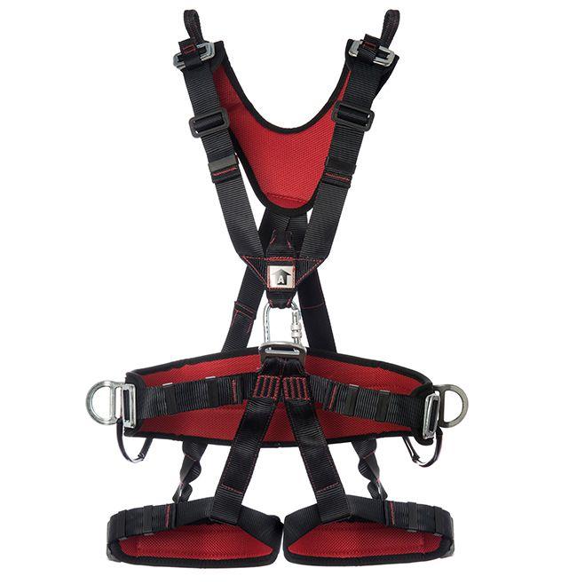 Cinturão paraquedista abdominal reg.Total 7 pts conexão mul1270 mg cinto