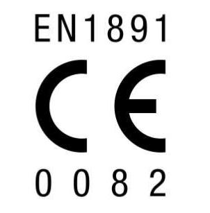 Corda Semi Estática 11mm X 1m En-1891 CE 0082 Polaris