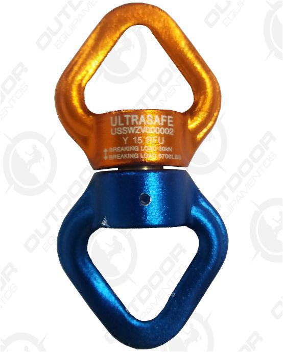 Destorcedor hook 30kn rolamentado Ultra Safe