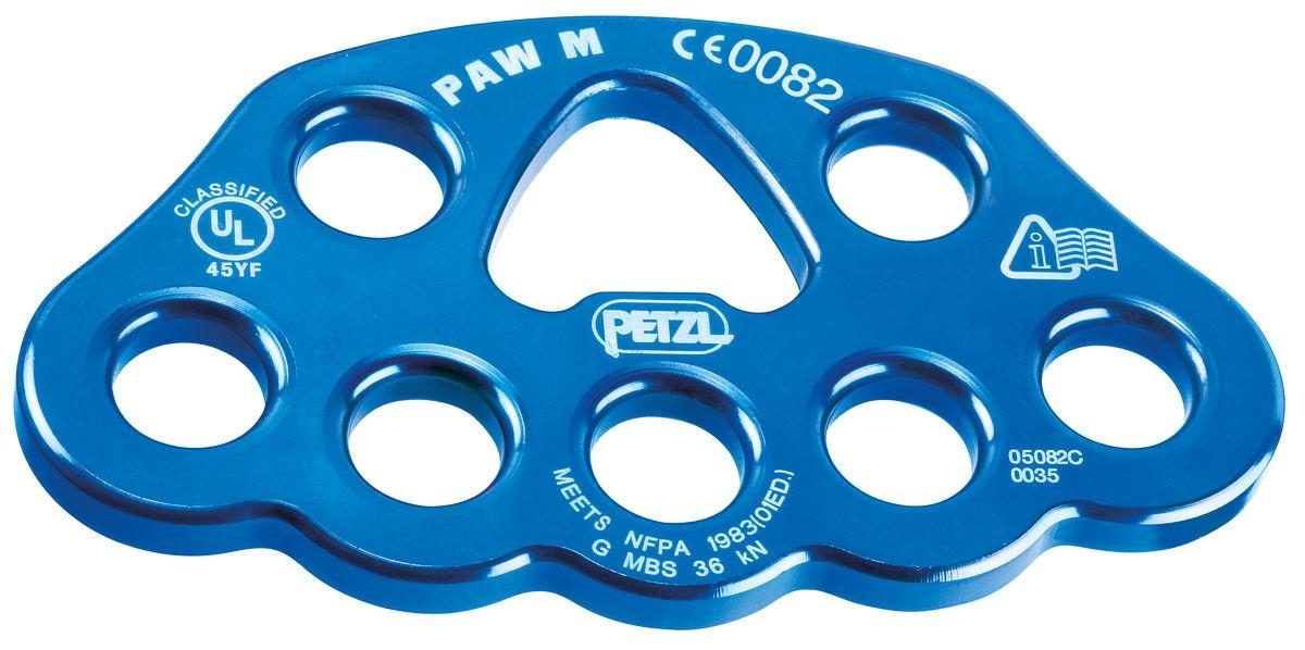 Placa de Ancoragem Paw M 8 Furos 36KN CE NFPA UIAA Petzl
