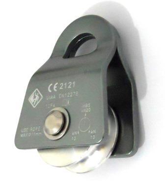 Polia Oscilante 20KN Compact até 11mm CE UIAA USClimb