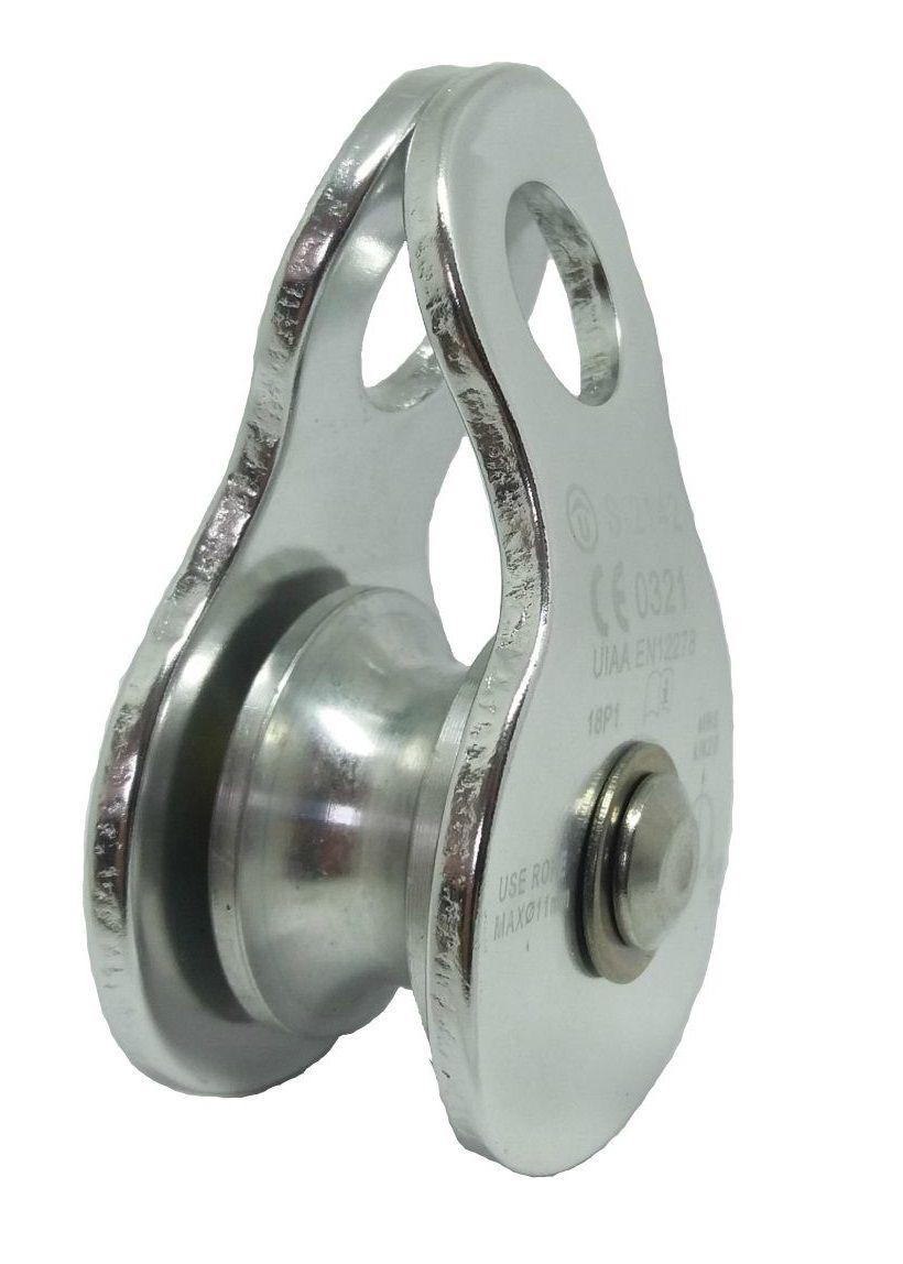 Polia Pequena Oscilante em Alumínio 20KN Corda até 11mm CE UIAA USANG