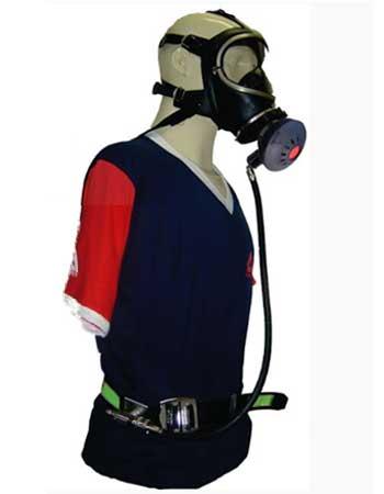 Respirador de Adução de Ar Comprimido de Fluxo Contínuo com Peça Facial Inteira Arconova Air Safety