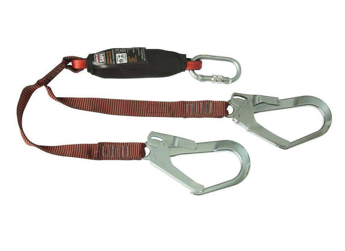 Talabarte Duplo SDE Y EW com Absorvedor MGO56cm Ultra Safe
