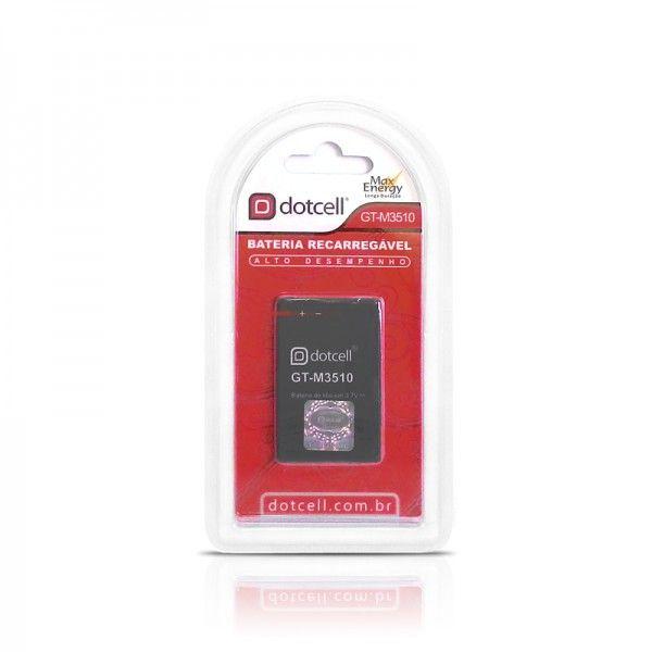 Bateria de Celular Recarregável Litio 3.7V GT-M3510 - Dotcell