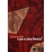 O que é crítica literária