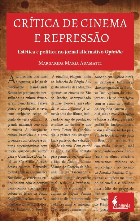 Crítica de cinema e repressão, de Margarida Adamatti