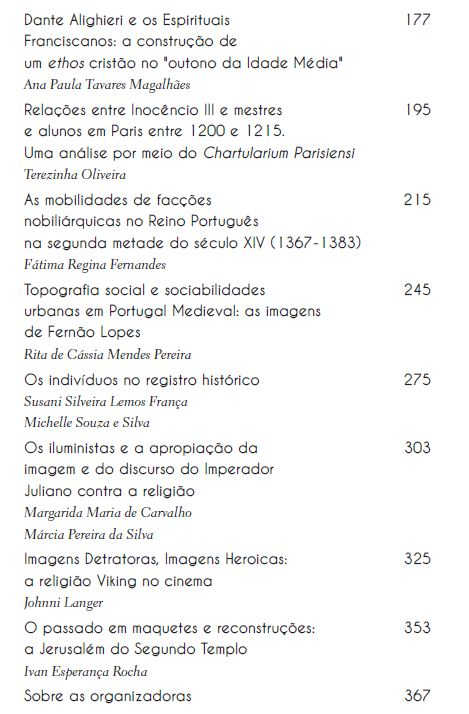 Imagens e textos, VOL. 02, organização Margarida Maria de Carvalho, Márcia Pereira da Silva, Susani Silveira Lemos França