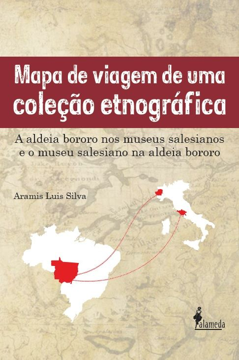 Mapa de viagem de uma coleção etnográfica