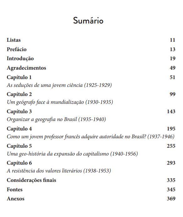 Pierre Monbeig e a Formação da Geografia no Brasil, de Larissa Alves de Lira