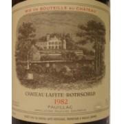 Chateau Lafite - Rothschild - Pauillac 1982