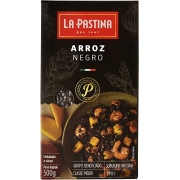 Arroz Negro Integral Italiano La Pastina (500G)
