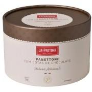 PANETTONE ITALIANO COM GOTAS DE CHOCOLATE LA PASTINA (750G)