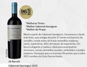 Vinho Chileno Cono Sur 20 Barrels Cabernet Sauvignon 2015 (750ml)