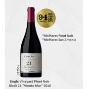 "Vinho Chileno Cono Sur Single Vineyard Pinot Noir Block 21 ""Viento Mar""2016(750ml)"