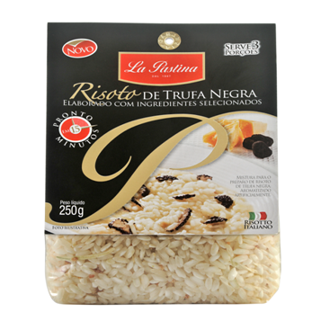 Risoto Italiano La Pastina trufas negras(250g)