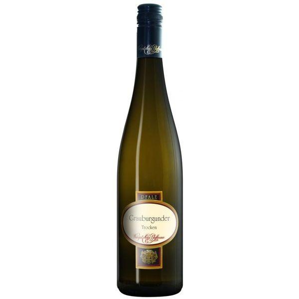 Vinho Alemão Pfaffmann - Grauburgunder trocken (Pinot Gris) seco 2011(750ml)