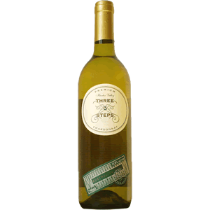 Vinho Australiano Three Steps Chardonnay 2017(750ml)