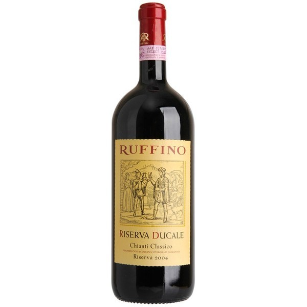 Vinho Italiano Ruffino Chianti Clássico Riserva Ducale DOCG tinto 2007(750ml)