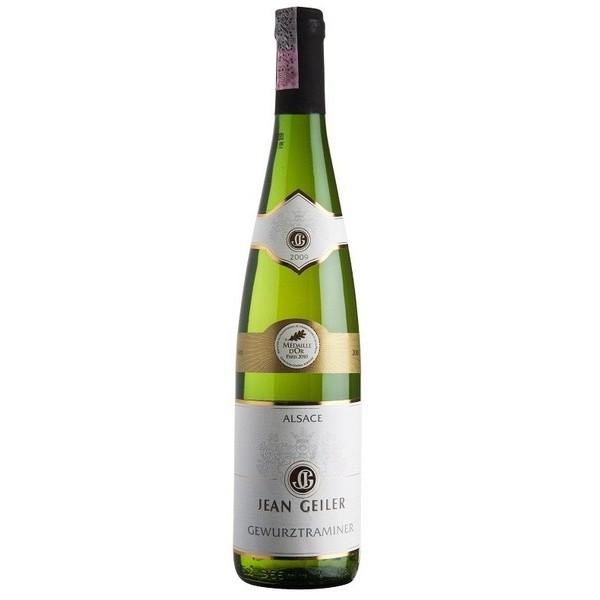 Vinho Francês Jean Geiler  Gewurztraminer AOC Gold? AOC branco 2013(750ml)