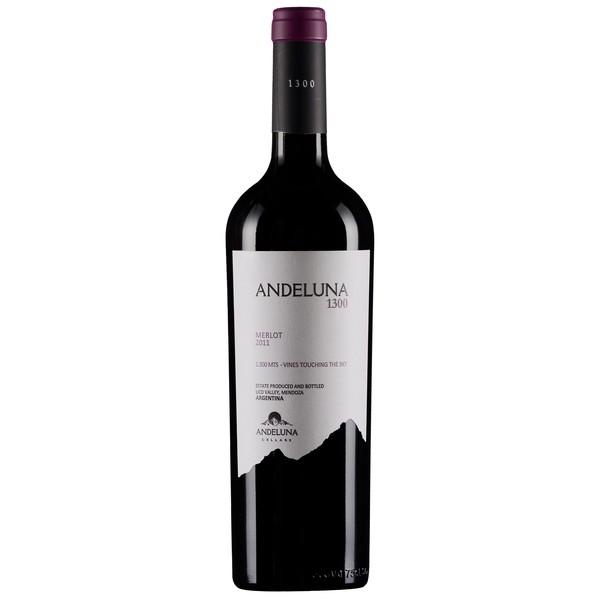 Vinho Argentino Andeluna 1300 Merlot 2015(750ml)