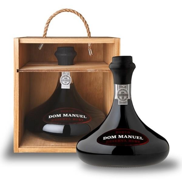 Vinho Português Porto Dom Manuel Decanter reserva Ruby (750ml)