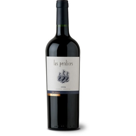 Vinho Argentino Las Perdices Tinto 93% Syrah e 7% Viognier 2018(750ml)