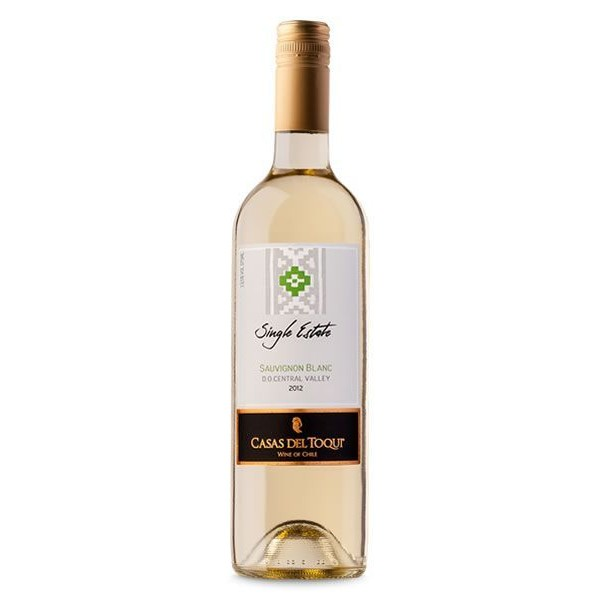 Vinho Chileno Casas Del Toqui Single Estate Sauvignon Blanc 2018(750ml)