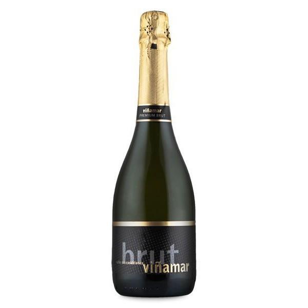 Vinho Chileno Espumante Vina Mar Brut Branco 2015(750ml)
