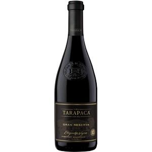 Vinho Chileno Tarapacá Gran reserva Etiqueta negra Cabernet Sauvignon 2017(750ml)