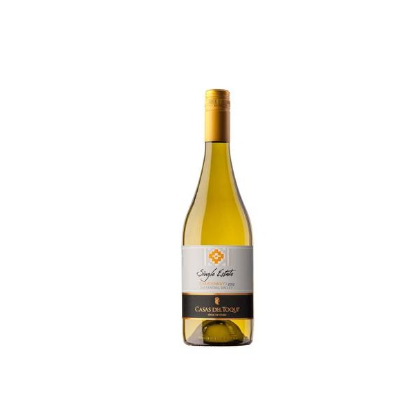 Vinho Chileno Casas del Toqui Single Estate Chardonnay 2018(750ml)