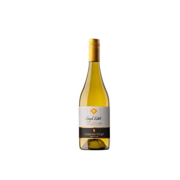 Vinho Chileno Casas del Toqui Single Estate Chardonnay 2017(750ml)