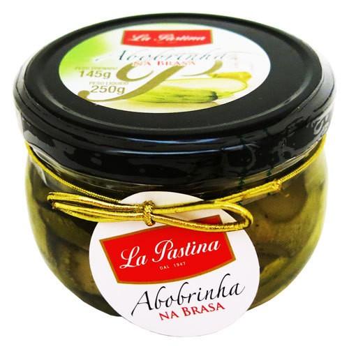 ABobrinha La pastina Peruana  na Brasa em Óleo de Girassol(225gr)