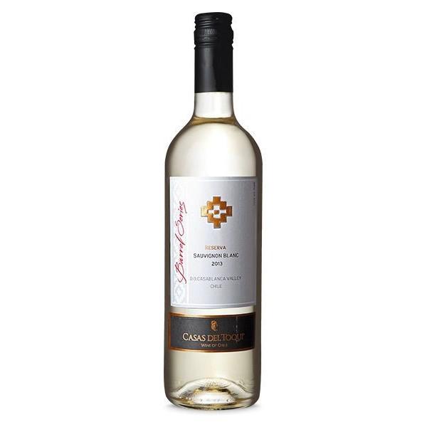 Vinho Chileno Casas del Toqui Reserva Sauvignon Blanc 2016(750 ml)