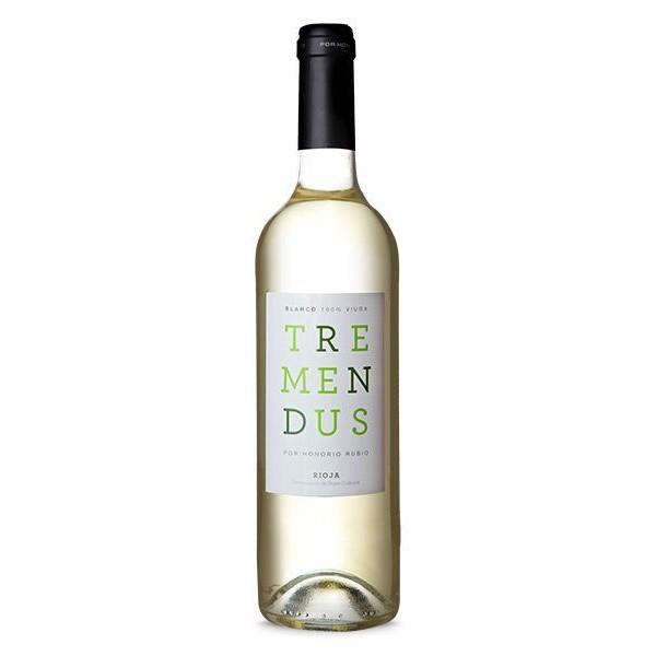 Vinho Espanhol Tremendus Branco Viura 2016(750ml)