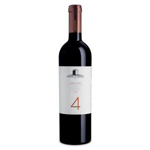 Vinho Português Herdade do Esporão Quatro Castas tinto Alicante Bouschet / Aragonês / Touriga Franca / Touriga Nacional 2016(750ml)