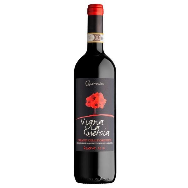 Vinho Italiano VIGNA LA QUERCIA CHIANTI COLLI FIORENTINI DOCG RISERVA 2010(750ml)