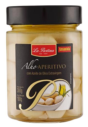 Alho Aperitivo La Pastina com Azeite de Oliva (300g)